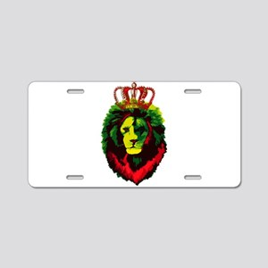 Iron Lion Zion Aluminum License Plate