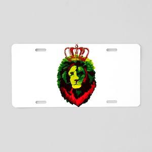 Iron Lion Zion Aluminum License Plate