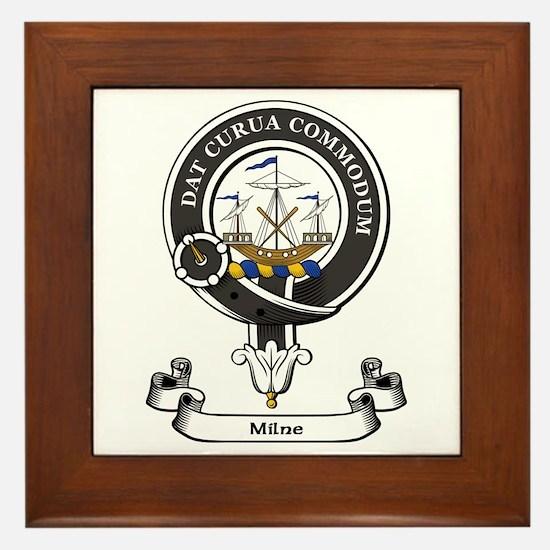 Badge-Milne Framed Tile