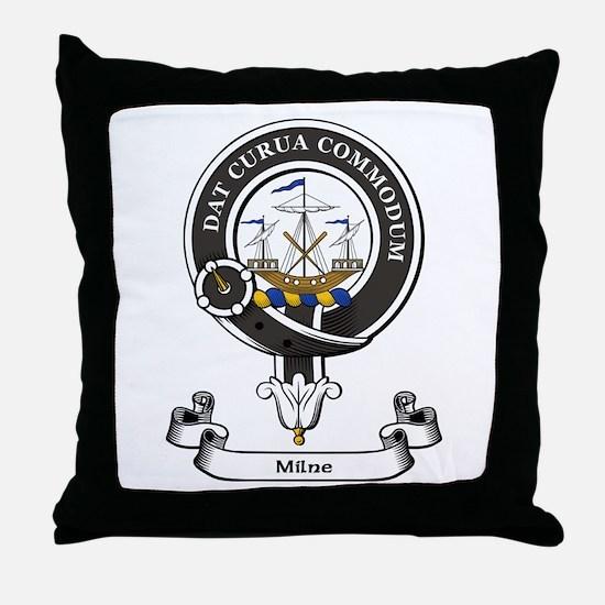 Badge-Milne Throw Pillow