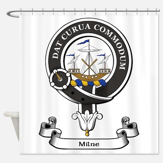 Badge-Milne Shower Curtain
