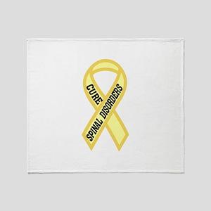 Spinal Disorder Throw Blanket