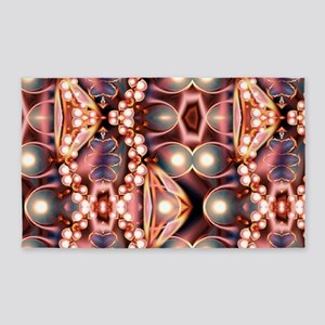 Pink Pearls Area Rug