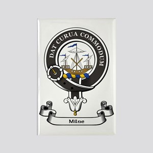 Badge-Milne Rectangle Magnet
