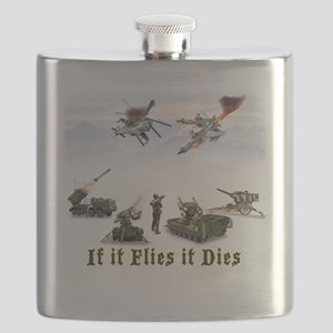 If It Flies It Dies Flask