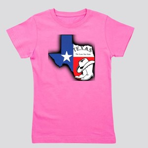 Texas Outline, The Lone Star State Girl's Tee