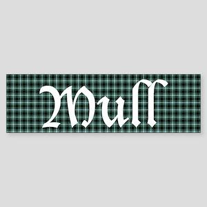 Tartan - Mull dist. Sticker (Bumper)