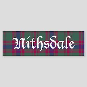 Tartan - Nithsdale dist. Sticker (Bumper)