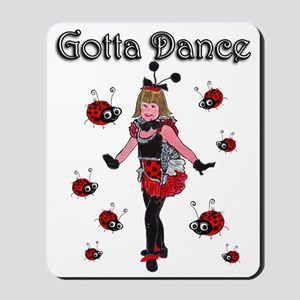 Ladybugs Gotta Dance Mousepad