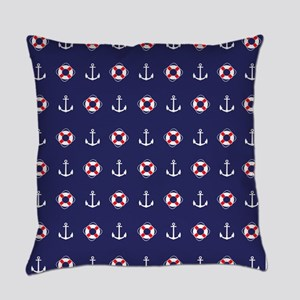 Sailing Elements Everyday Pillow