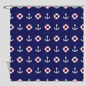 Sailing Elements Shower Curtain