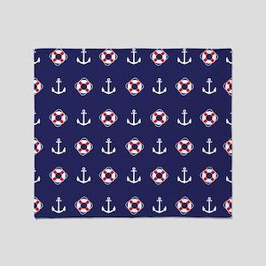 Sailing Elements Throw Blanket