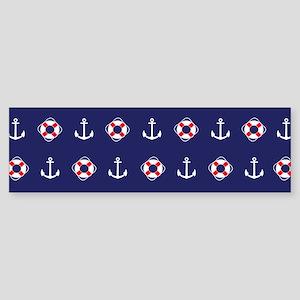 Sailing Elements Bumper Sticker