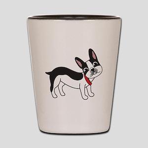 Boston Terrier Chuy Shot Glass