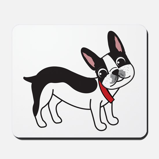 Boston Terrier Chuy Mousepad