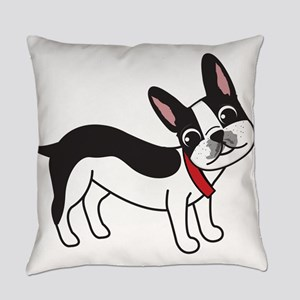 Boston Terrier Chuy Everyday Pillow