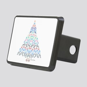 Marine Christmas Tree Rectangular Hitch Cover