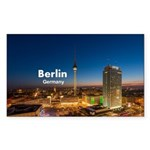 Berlin Sticker (Rectangle 50 pk)