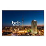 Berlin Sticker (Rectangle 10 pk)