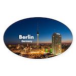 Berlin Sticker (Oval 50 pk)