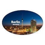 Berlin Sticker (Oval 10 pk)