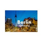 Berlin Rectangle Magnet (100 pack)
