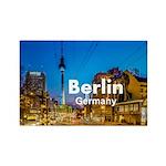 Berlin Rectangle Magnet (10 pack)