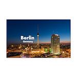 Berlin Rectangle Car Magnet