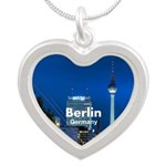 Berlin Silver Heart Necklace