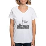 Berlin Women's V-Neck T-Shirt