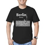 Berlin Men's Fitted T-Shirt (dark)