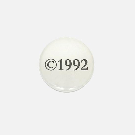 Copyright 1992-Gar gray Mini Button