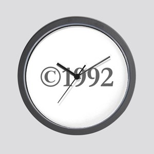Copyright 1992-Gar gray Wall Clock