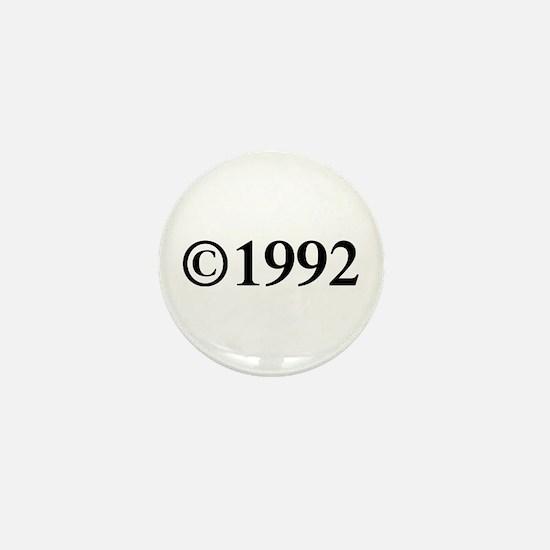 Copyright 1992-Tim black Mini Button