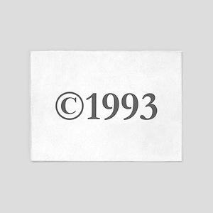 Copyright 1993-Gar gray 5'x7'Area Rug