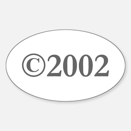 Copyright 2002-Gar gray Decal