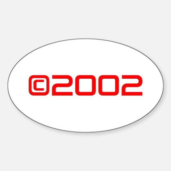 Copyright 2002-Sav red Decal