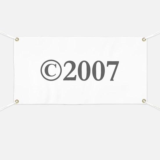 Copyright 2007-Gar gray Banner