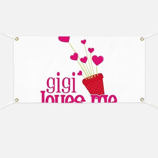 Gigi Loves Me Banner