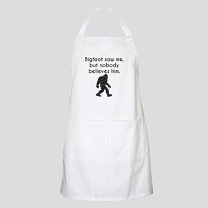 Bigfoot Saw Me (Distressed) Apron