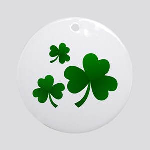 Clovers Ornament (Round)