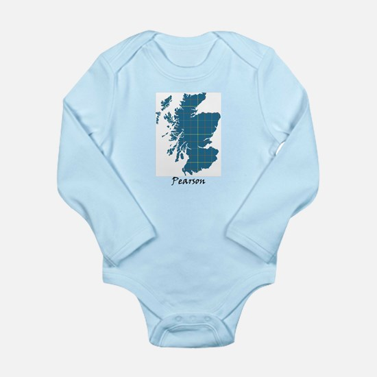 Map-Pearson Long Sleeve Infant Bodysuit