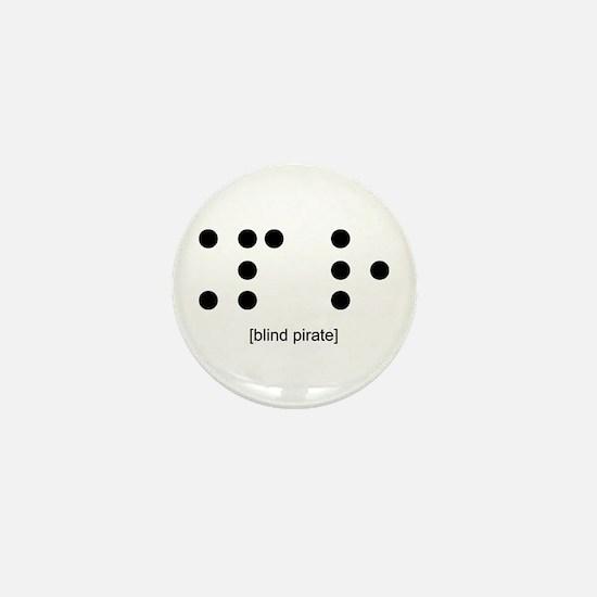 Blind Pirate Mini Button