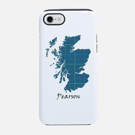 Map-Pearson iPhone 7 Tough Case