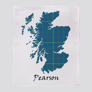Map-Pearson Throw Blanket
