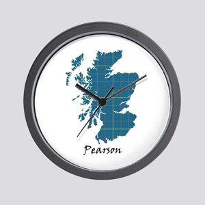 Map-Pearson Wall Clock