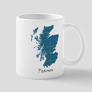 Map-Pearson 11 oz Ceramic Mug