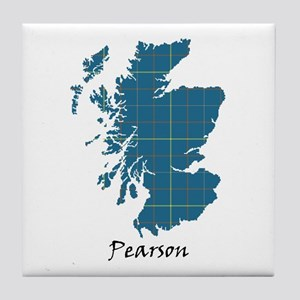 Map-Pearson Tile Coaster