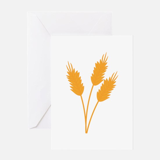 Wheat Stalk Greeting Cards