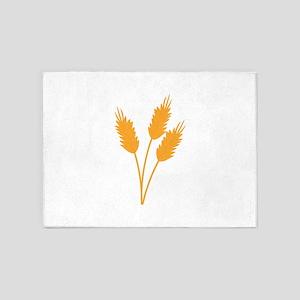 Wheat Stalk 5'x7'Area Rug